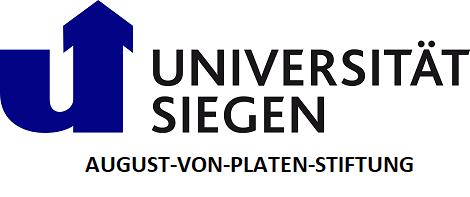 Uni Siegen August von Platen Stiftung