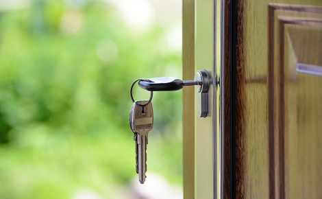 Umzug Schlüssel neue Wohnung