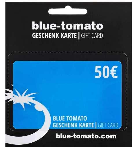 blue tomato geschenkgutschein