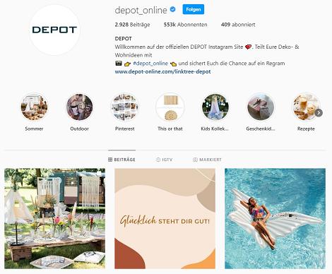 depot instagram