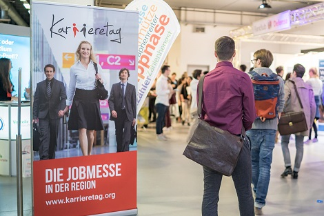 Karrieretag - Die Jobmesse in der Region