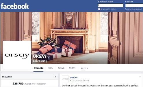 orsay facebook