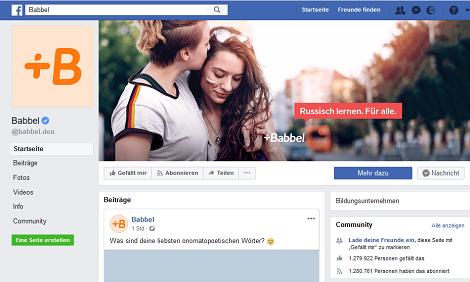 babbel facebook