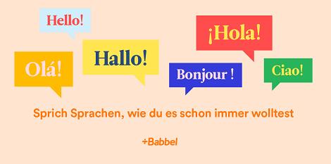 babbel online sprachkurse