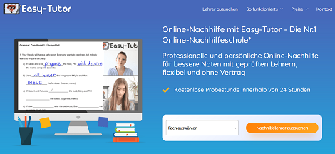 Easy-Tutor nachhilfe online