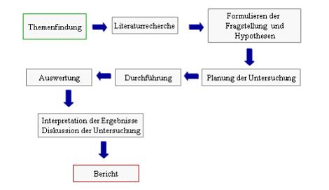 empirische Arbeit Aufbau und Gliederung