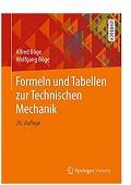 Formeln und Tabellen zur Technischen Mechanik Alfred Böge Wolfgang Böge
