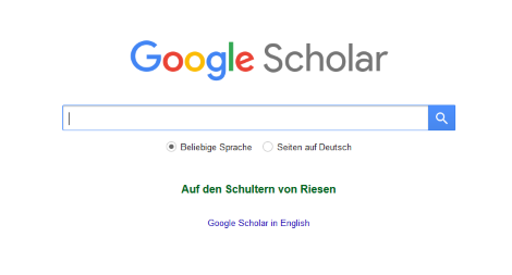 wissenschaftliche internetquelle google scholar