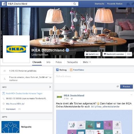 ikea facebook