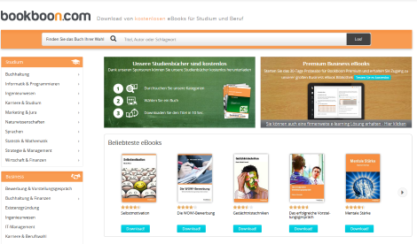 kostenlose ebooks studium bookboon