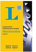 Langenscheidt Fachwörterbuch Kompakt Maschinenbau Englisch John D Graham