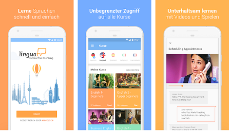 linguatv.com app sprachen lernen