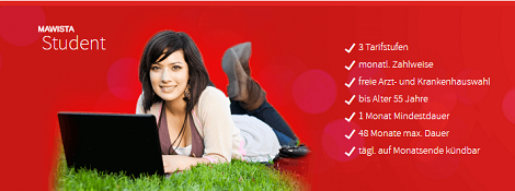 Mawista Reiseversicherung für Studenten und Au-pairs