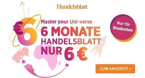 handelsblatt studentenabo für 6 euro