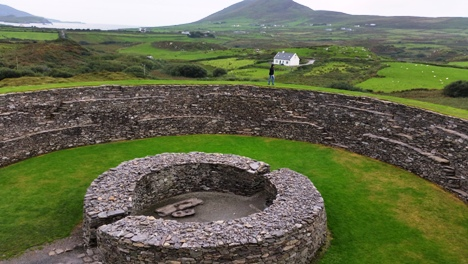 studieren in irland ring of kerry staigue fort