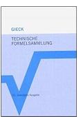 Technische Formelsammlung Kurt Gieck Reiner Gieck