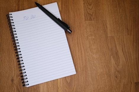 to do listen schreiben studienorganisation tipp