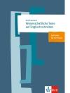 Dirk Siepmann Wissenschaftliche Texte auf Englisch schreiben (Ernst Klett Sprachen)