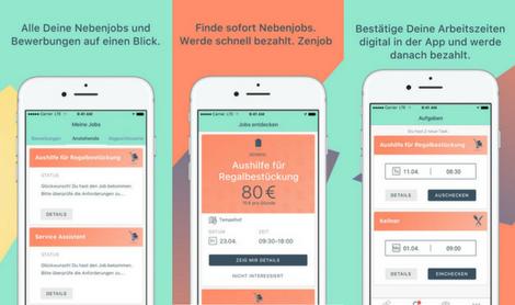 zenjob app