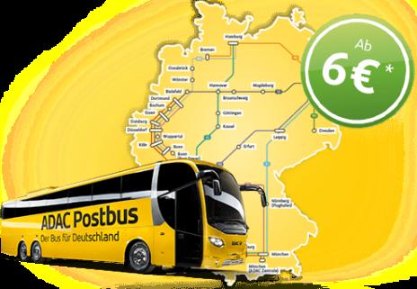 g nstige busreisen finden mit der fernbus bersicht. Black Bedroom Furniture Sets. Home Design Ideas