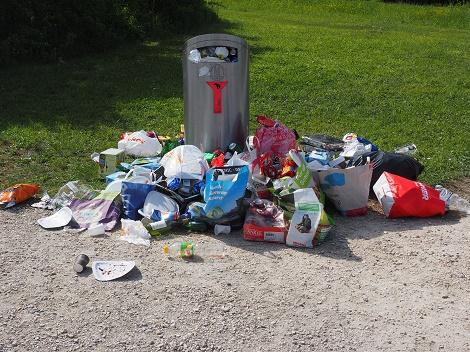 den ökologischen Fussabdruck verkleinern Müll reduzieren