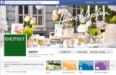 depot facebook