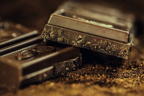 In Klausuren Essen und Trinken Schokolade