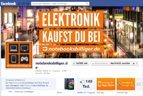 notebooksbilliger facebook