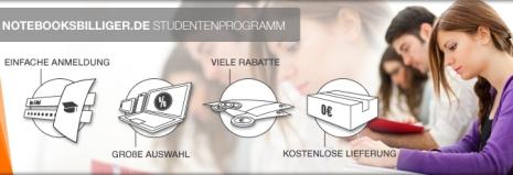 notebooksbilliger studentenprogramm Campusprogramm