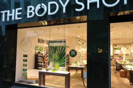 the body shop filialen