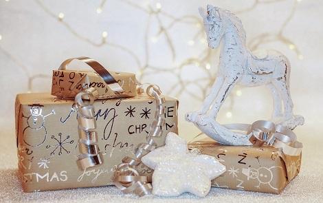 Weihnachtsgeschenkpapier